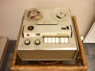 Vintage National Reel to Reel Tape Recorder Player RQ 703