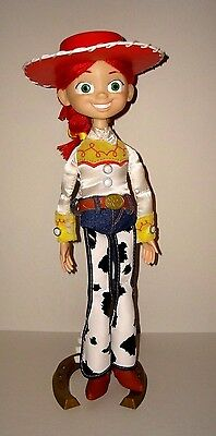 "Toy Story Collection 14"" Talking Pull string Jessie with Stand."