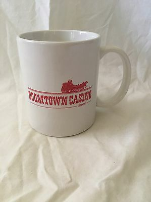 Vintage Mississippi Nevada Boomtown Hotel Casino Coffee Mug Cup Biloxi Heavy