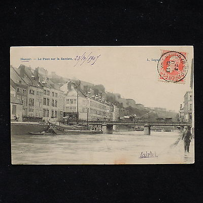 ZS-AB173 BELGIUM - Postcard, 1909 From Namur To Milan Italy Cover