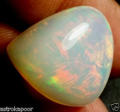 25.20 CT FIRE OPAL GIE Certified 100% NATURAL AAA+ FABULOUS Quality Gemstone