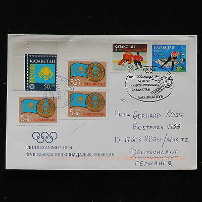 ZS-AB831 KAZAKHSTAN - Olympic Games, 1994 To Robel Germany Cover