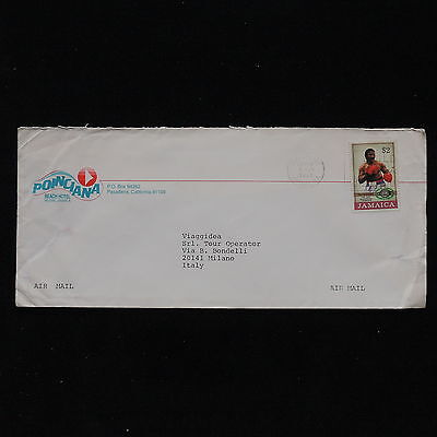 ZS-AB910 JAMAICA IND - Sports, 1991 Airmail To Milan Italy Cover