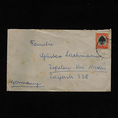 ZS-AB924 SOUTH AFRICA IND - Cover, 1951 To Germany