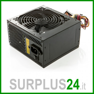 Alimentatore Computer Pc 650w watt 20+4 Pin ATX Desktop Power Supply GARANTITO