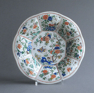 A good Chinese famille verte lobed dish, Kangxi