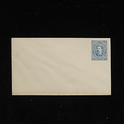 ZS-AC181 COSTA RICA - Entire, 5 Centavos Blue, Mint Cover