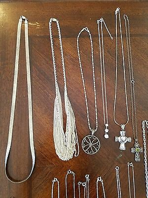 Sterling Silver Lot 137 pieces 1,015grams