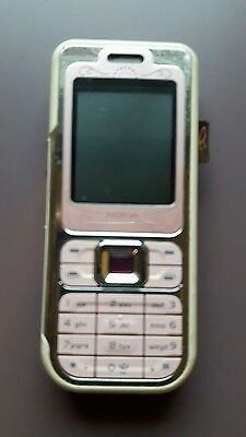 NOKIA 7360  on O2 RARE L'AMOUR  PHONE  with charger works perfect