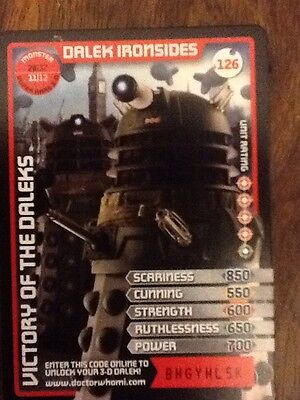 Dr Who Monster Invasion Trading Card Super Rare 3D