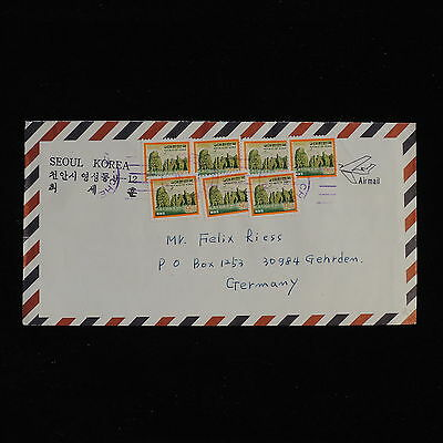 ZS-AC421 S. KOREA - Nature, Airmail To Gehrden Germany Cover