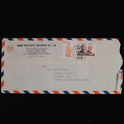 ZS-AC561 TAIWAN - Airmail, 1975 To Nordlingen West Germany Cover