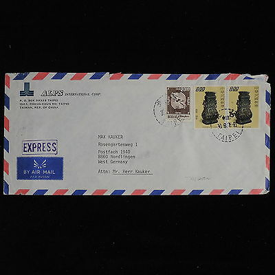 ZS-AC570 TAIWAN - Airmail, 1976 From Taipei To Nordlingen Germany Cover