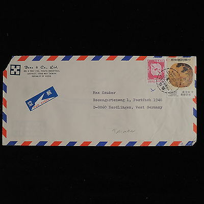 ZS-AC571 TAIWAN - Airmail, 1979 From Taipei To Nordlingen Germany Cover