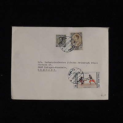 ZS-AC602 THAILAND - Cover, To Edingen Germany