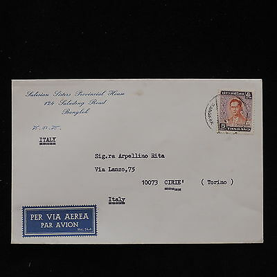 ZS-AC634 THAILAND - Airmail, From Bangkok To Cirie Italy Cover