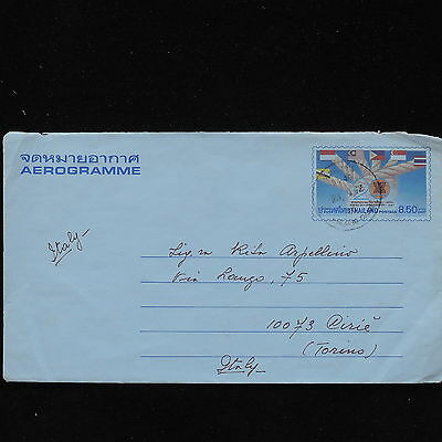 ZS-AC668 THAILAND - Airletter, To Cirie Italy Cover
