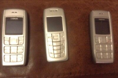 Job Lot Of 3 Nokia Phones For Spares And Repairs
