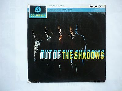 The Shadows LP ( Out of the Shadows ) Columbia 33SX 1458,