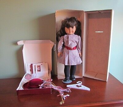 American Girl SAMANTHA Doll & Accessories w Original Boxes & Papers RETIRED