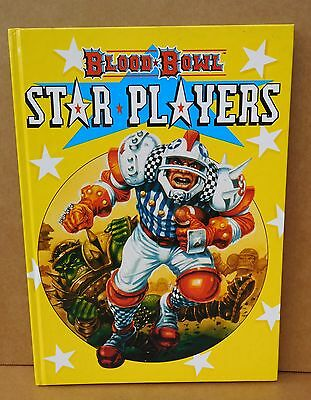 Blood Bowl Star Players Book - Complete w Cards Orc Elf Dwarf Chaos Ex cond