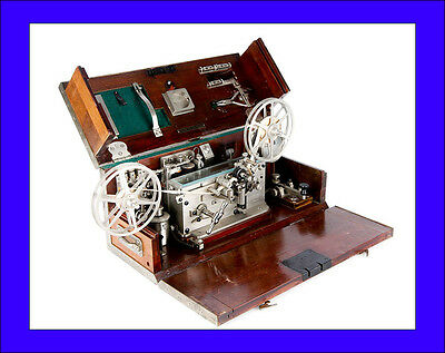 Antique Pio Pion Portable Morse Telegraph For The Italian Army. Italy, 1920