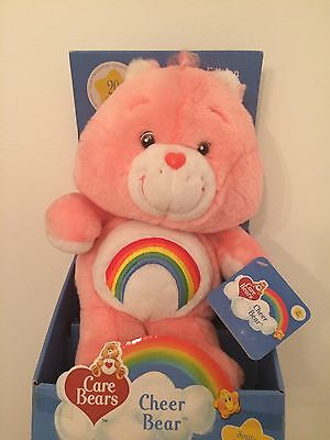 Vintage Cheer Bear Care Bear 20th Anniversary Edition In Box (2002)