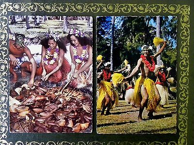 Two Postcards of Tahiti from the early 1960's