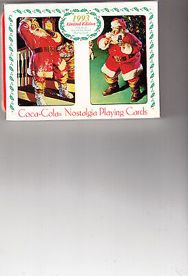 "Coca-Cola Nostalgia Playing Cards In A Collectible Tin ""sealed"" 1993"