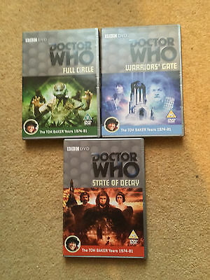 Dr who E-Space Trilogy All 3 dvds