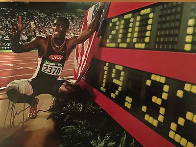 Michael Johnson Original Hand Signed Photo 12x8 With COA