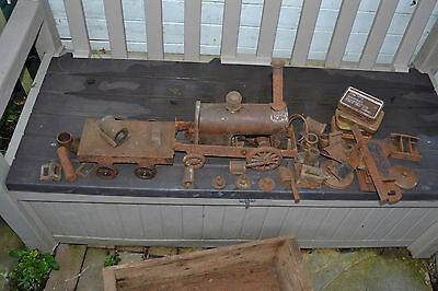 steam engine poss.a 'rainhill chassis' WITH PARTS