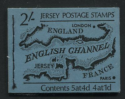 Jersey: 1969 2/- Stamp Booklet - Map SG B1 - AC238