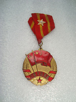 Chinese SOVIET China and the USSR Friendship Medal