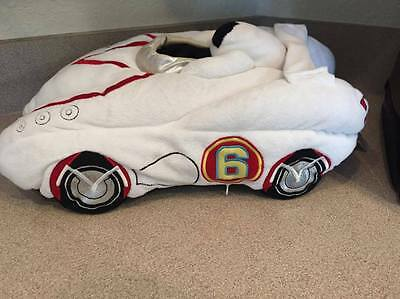 "18"" Warner Brothers Speed Racer White pillow plush"