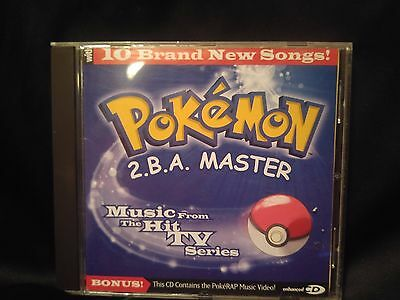 Pokemon  ''2.b.a. Master'' - Music From The Hit Tv Series, Cd