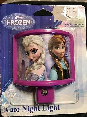 Disney Frozen Auto Night Light - Automatic LED