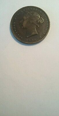 1870 Queen Victoria.  Jersey   One Thirteenth Of A Shilling.