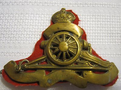 WWII Era Modified Royal Canadian Artillery Badge