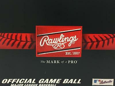 12 Rawlings Official Major League Game Baseball ROMLB 1 dozen balls Manfred