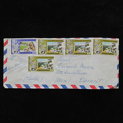 ZS-P938 VENEZUELA - Cover, Great Franking To Switzerland
