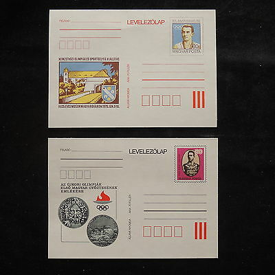 ZS-S420 HUNGARY - Entire, Stationery, Olympic Games, 1986, Levelezolap Covers