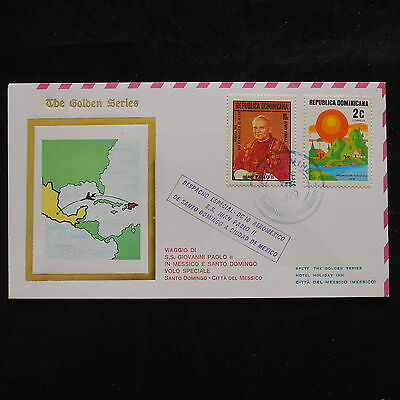 ZS-S702 DOMINICAN REP. - John Paul II, Visit To Santo Domingo, 1979 Cover