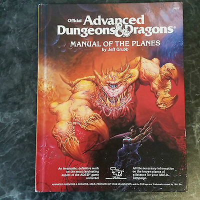 Advanced Dungeons&Dragons MANUAL OF THE PLANES by Jeff Grubb