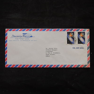 ZS-T460 BARBADOS IND - Space, Airmail To Milan Italy Cover