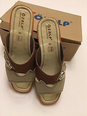 Turkish Ladies Ozalp Quality  Comfortable Sandals  Size UK 3 to a 4