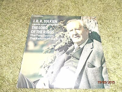JRR Tolkien  'The Lord of the Rings,'  LP. 1975. Caedmon