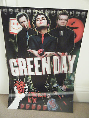 Large Greenday 3D American Idiot plastic poster