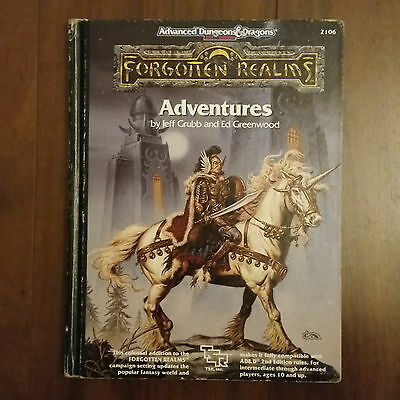 Advenced Dungeons&Dragons Forgotten Realms Adventures by J.Grubb&E.Greenwood