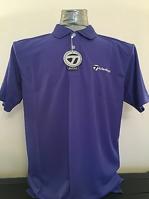 """SALE New Mens Taylormade Golf Polo Shirt Size Large 44"""" Chest"""